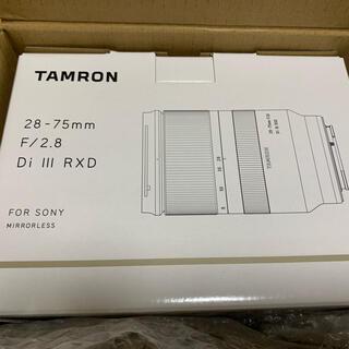 TAMRON - TAMRON 28-75mm F2.8 DI3 RXD(A036SE) 新品