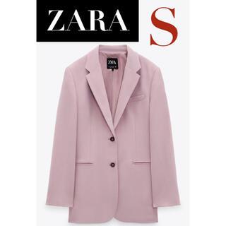 ZARA - 【新品/未着用】 ZARA ポケット付きストレートカットブレザー ジャケット