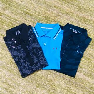 オークリー(Oakley)のオークリー ゴルフ用ポロシャツ 3枚セット サイズL(ウエア)