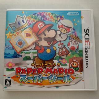任天堂 - ペーパーマリオ スーパーシール 3DS