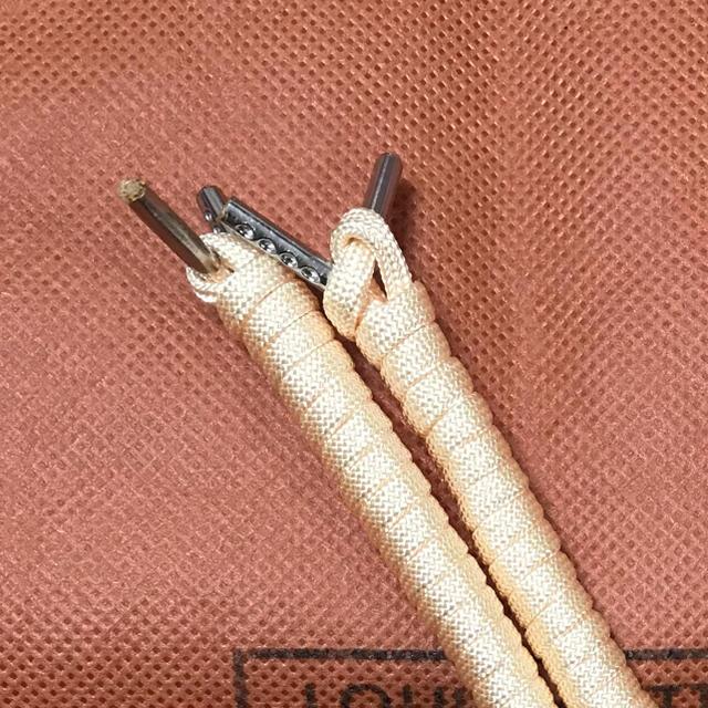 Timberland(ティンバーランド)の【140cm】ブーツシュー 靴紐 シルバーチップ クリーム メンズの靴/シューズ(ブーツ)の商品写真