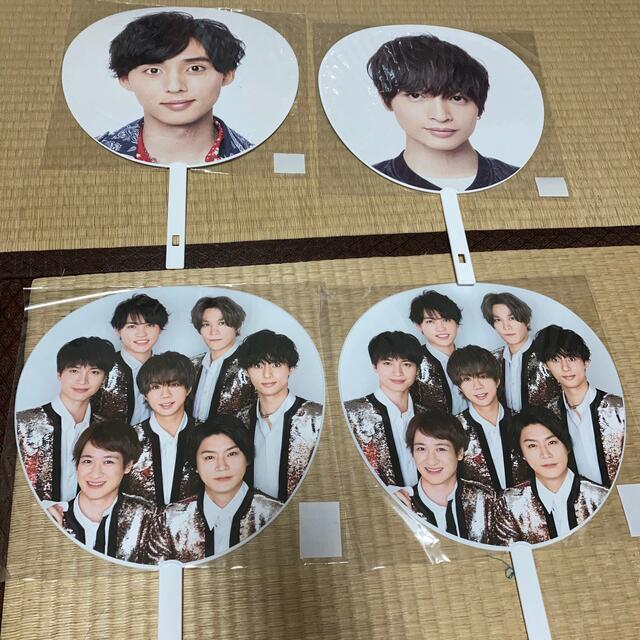 Kis-My-Ft2(キスマイフットツー)のキスマイ うちわ エンタメ/ホビーのタレントグッズ(アイドルグッズ)の商品写真