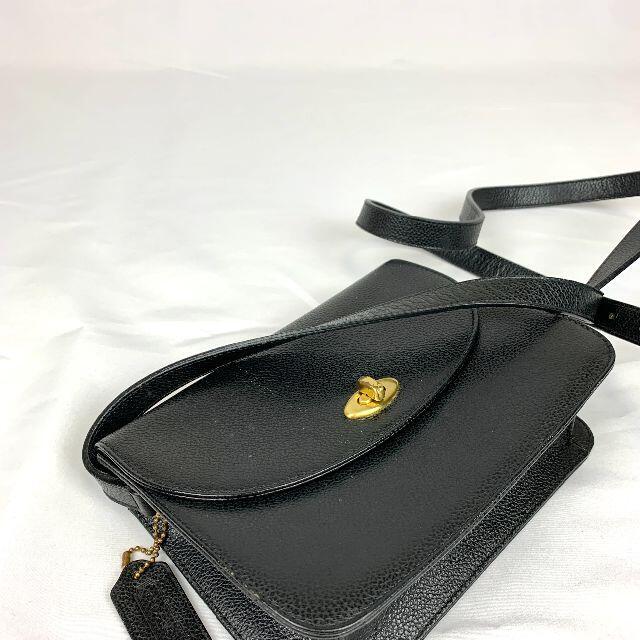 COACH(コーチ)のOLD COACH ターンロック レザー ショルダーバッグ レディースのバッグ(ショルダーバッグ)の商品写真