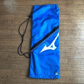 ミズノ(MIZUNO)のミズノ テニスラケットケース ラケバ ブルー(バッグ)