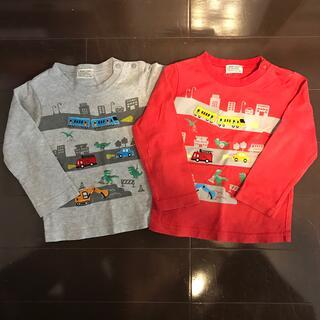 BAB CHIP 長袖Tシャツ 90 2枚(Tシャツ/カットソー)