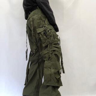 ストーンアイランド(STONE ISLAND)の【UK Label テクノパンツ デッドストック】M65サンプリングカーキ 軍(ワークパンツ/カーゴパンツ)