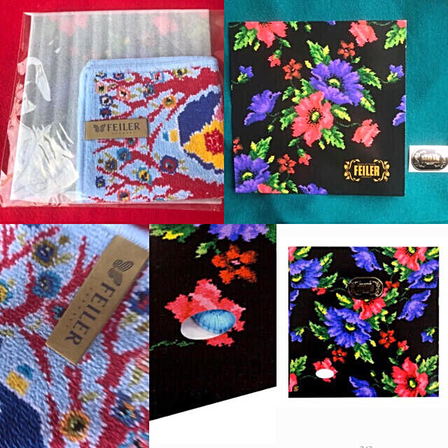 FEILER(フェイラー)のフェイラー Feiler タオルハンカチ コテージ COTTAGE 袋 シール付 レディースのファッション小物(ハンカチ)の商品写真