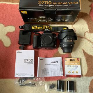 Nikon - Nikon D750 24-120VRレンズキット+予備バッテリー他おまけ有