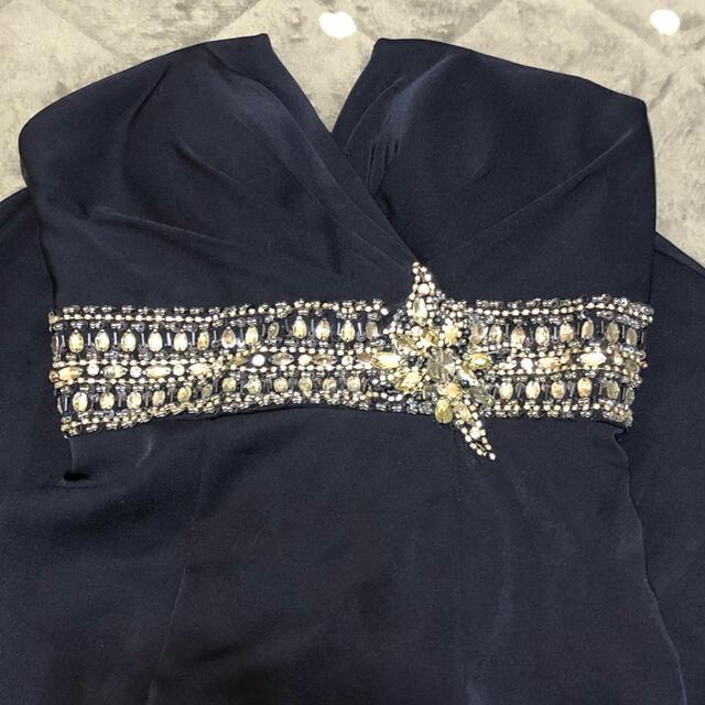 AngelR(エンジェルアール)のエンジェルアール ロングドレス ネイビー レディースのフォーマル/ドレス(ロングドレス)の商品写真
