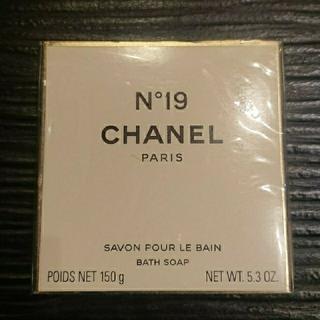CHANEL - シャネル N°19 サヴォン 石鹸 150g