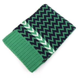 Gucci -  グッチ マフラー 550597 グリーン ネイビー 新品