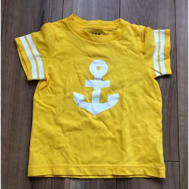HELLY HANSEN(ヘリーハンセン)のHELLY HANSEN ヘリーハンセン Tシャツ 100 キッズ/ベビー/マタニティのキッズ服男の子用(90cm~)(Tシャツ/カットソー)の商品写真