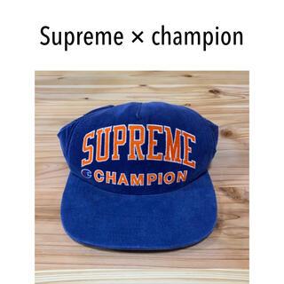 Supreme - 【激レア!】シュプリーム  チャンピオン コラボ キャップ ストリート