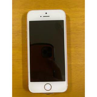 アップル(Apple)のiPhone SE Rose Gold 16 GB SIMフリー(スマートフォン本体)