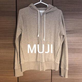 MUJI (無印良品) - 無印  ムラ糸裏毛ジップアップパーカー