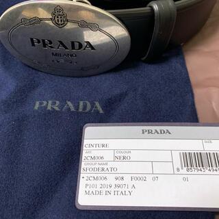 プラダ(PRADA)の再値下げ PRADA  プラダ ベルト ロゴベルト(ベルト)