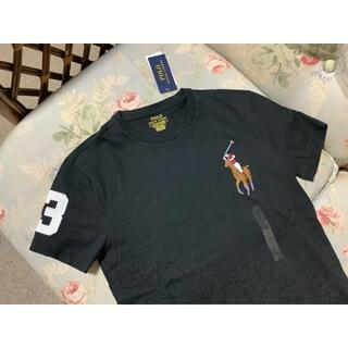 Ralph Lauren - 新品☆ラルフローレン Tシャツ ビッグポニー 黒 US S