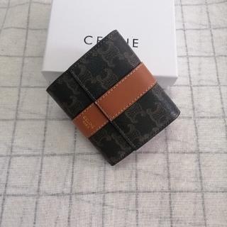 celine - ✽ 即納 「CELINE✩セリーヌ」三つ折りさいふ 箱付き 人気品
