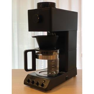 TWINBIRD - ツインバード 全自動コーヒーメーカー CM-D465B 6カップ用