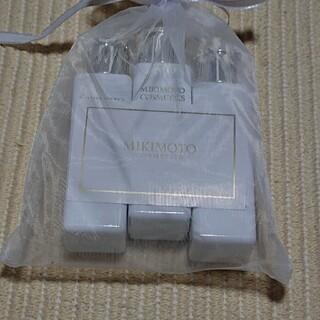 ミキモトコスメティックス(MIKIMOTO COSMETICS)のミキモトコスメティックス ボディシャンプーシャンプーヘアコンディショナーセット(サンプル/トライアルキット)