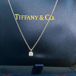 Tiffany & Co. - ティファニー ソリティア ネックレス 0.22ct