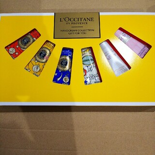L'OCCITANE - ☃️☆了承の方に特典あり。ロクシタンハンドクリームギフトセット10ml6本