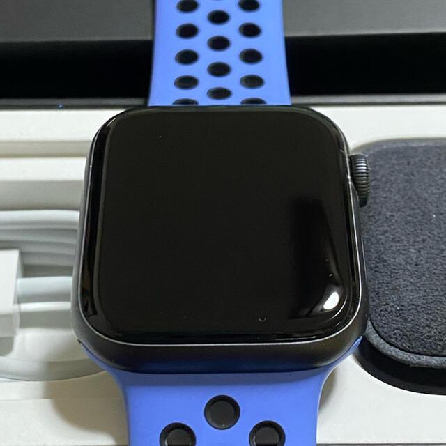 Apple Watch(アップルウォッチ)のApple Watch シリーズ5 Nike 44mm GPS メンズの時計(腕時計(デジタル))の商品写真