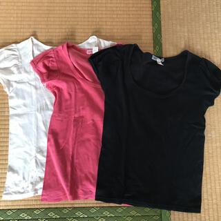 TSUMORI CHISATO - ツモリチサト パフスリーブT  3枚セット 半袖カットソー 重ね着