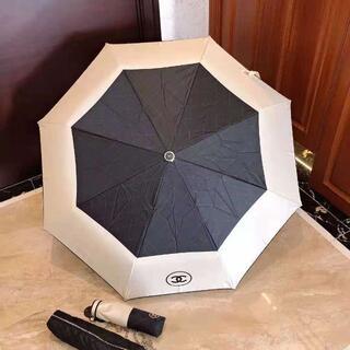 CHANEL - セール中 CHANEL シャネル 日傘 折り畳み傘 遮光 晴雨兼用