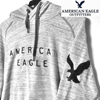 American Eagle - アメリカンイーグル パーカー ライトグレー