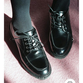ディーホリック(dholic)のDHOLIC レザーライクオックスフォードシューズ(ローファー/革靴)