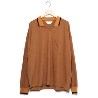 1LDK SELECT - 新品 wonderland 20aw knit polo shirts
