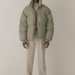 ACNE - cold laundry puffer jacket mint