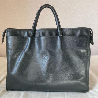 イルビゾンテ(IL BISONTE)のイルビゾンテ ビジネスバッグ ブリーフケース レザー ブラック 黒(ビジネスバッグ)