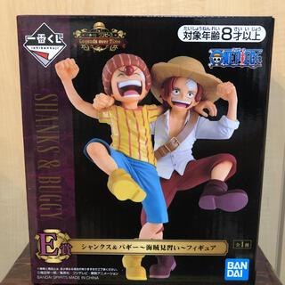 BANDAI - ワンピース 一番くじ E賞 シャンクス バギー フィギュア