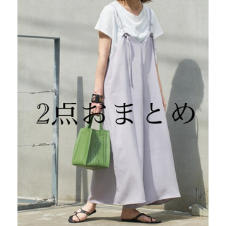 チャオパニックティピー(CIAOPANIC TYPY)のTシャツ&キャミソールサロペットSET☆キャミサロペット(サロペット/オーバーオール)