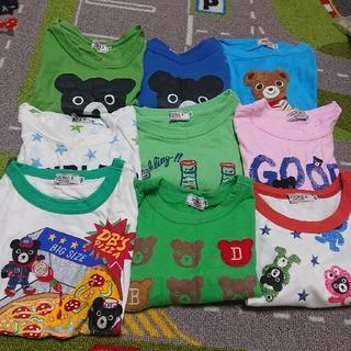 mikihouse - ダブルBTシャツまとめ売り110センチと120センチ