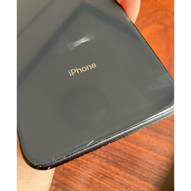 iPhone(アイフォーン)の 【訳あり】 iPhone8plus 海外版SIMフリー64GB スマホ/家電/カメラのスマートフォン/携帯電話(スマートフォン本体)の商品写真