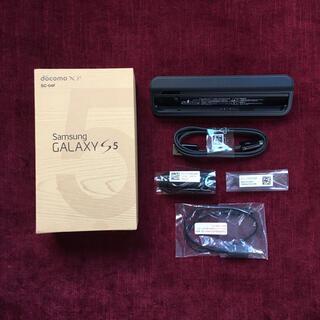 ギャラクシー(Galaxy)の【新品】ドコモ GALAXY 5S 付属品一式(バッテリー/充電器)