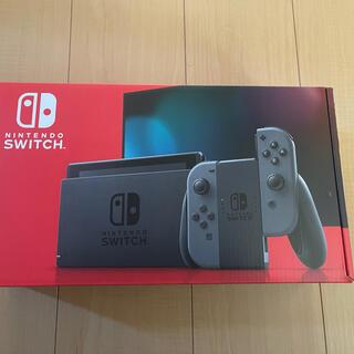 Nintendo Switch - 【新品】Nintendo Switch新モデル 任天堂スイッチ本体 グレー