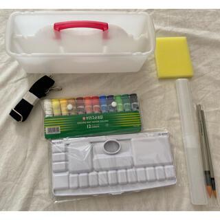 サクラクレパス(サクラクレパス)の新品未使用 小学生 絵具セット (絵の具/ポスターカラー)