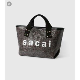 sacai - サカイ ロゴバッグ
