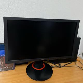 エイサー(Acer)のAcer ゲーミングモニター XF240QSbmiiprx  黒猫の使い様専用(ディスプレイ)