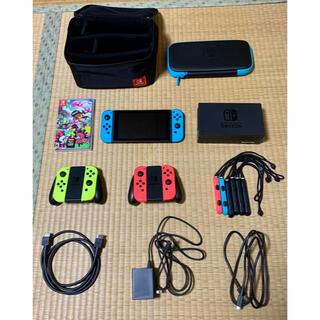 ニンテンドースイッチ(Nintendo Switch)のニンテンドースイッチ 中古 旧型 美品 箱無し Nintendo Switch(家庭用ゲーム機本体)