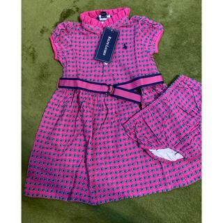 ラルフローレン(Ralph Lauren)の専用🌻ラルフローレン 子供服 24month 半袖ワンピース🌻(ワンピース)