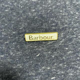 バーブァー(Barbour)のBarbour バブアー ピンバッジ ピンズ 2020年ホワイトレーベル(バッジ/ピンバッジ)