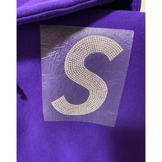 Supreme - Supreme Swarovski S Logo Hooded シュプリーム