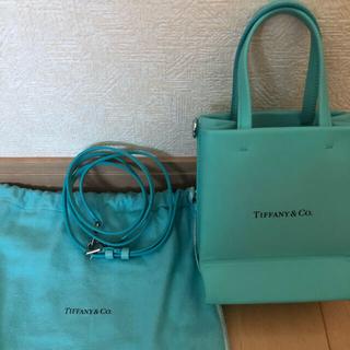 Tiffany & Co. - 大人気国内完売 美品ティファニーミニトートバッグ TIFFANY&CO.バッグ