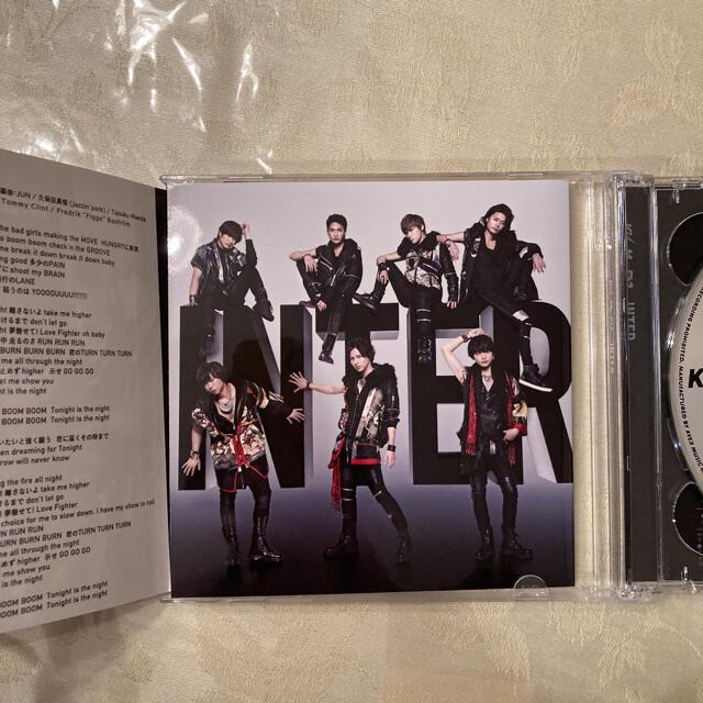 Kis-My-Ft2(キスマイフットツー)のKis-My-Ft2  INTER (CD&DVD)限定盤 エンタメ/ホビーのDVD/ブルーレイ(アイドル)の商品写真