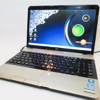 エヌイーシー(NEC)の【大人ゴールド】Corei5/LaVie/NEC/ノートパソコン(ノートPC)